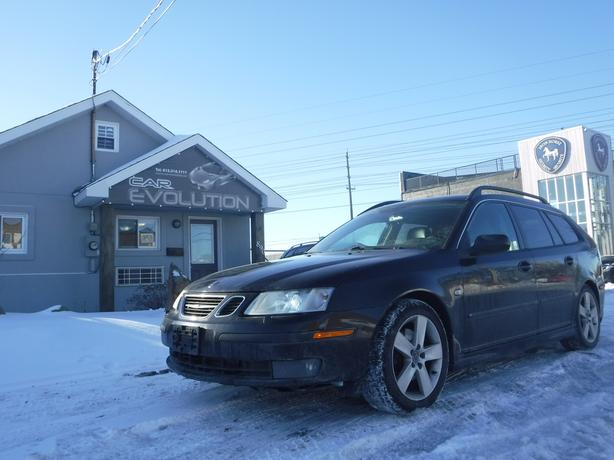 2007 Saab 9-3 Aero LOADED WGN/LTHR/ROOF, CERTIFIED+WRTY $4490