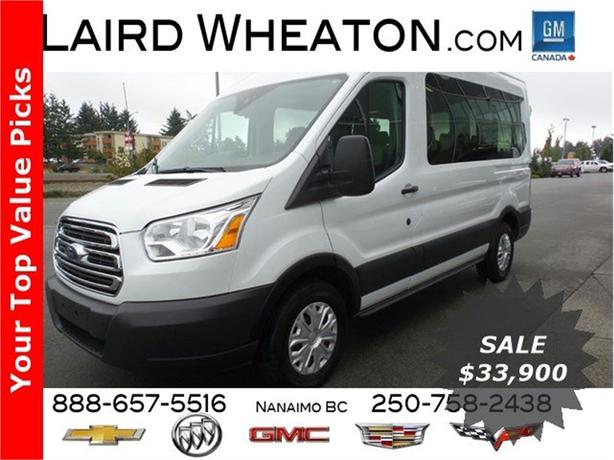 2016 Ford Transit Wagon XLT 8 Passenger, Back-Up Camera,