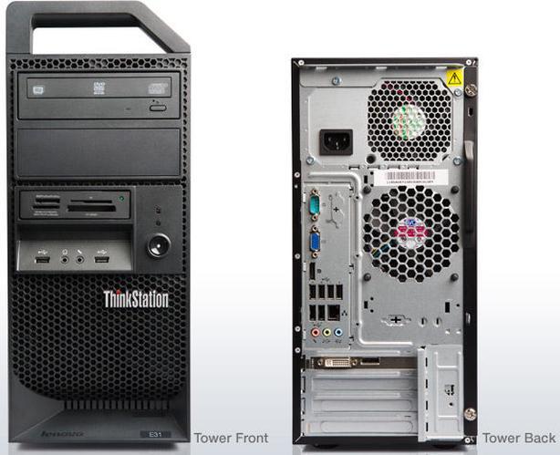 LENOVO E31 i7 QUAD THINKSTATION  w/NEW 250 SSD and WIN 10 PRO!