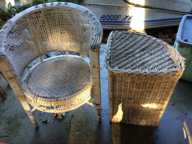 FREE: old rattan