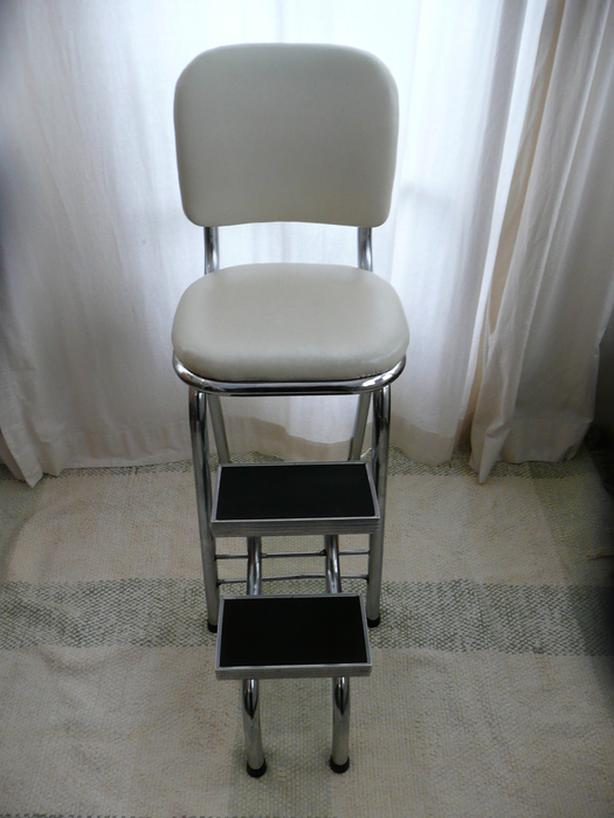 Enjoyable Log In Needed 50 Vintage Chrome Step Stool Machost Co Dining Chair Design Ideas Machostcouk