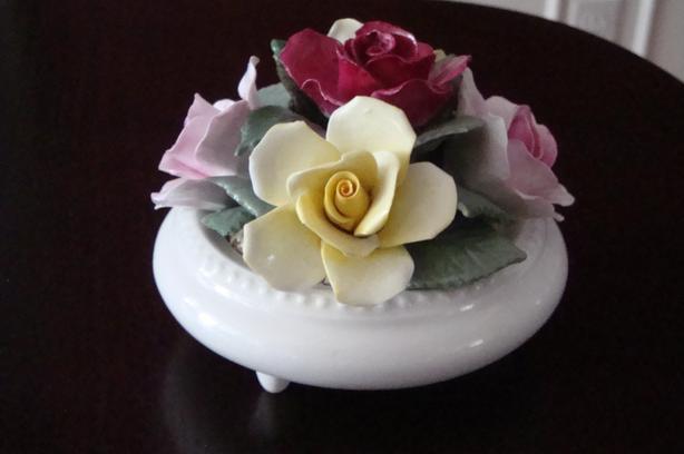 Fine China 5-Rose Posey Bowl