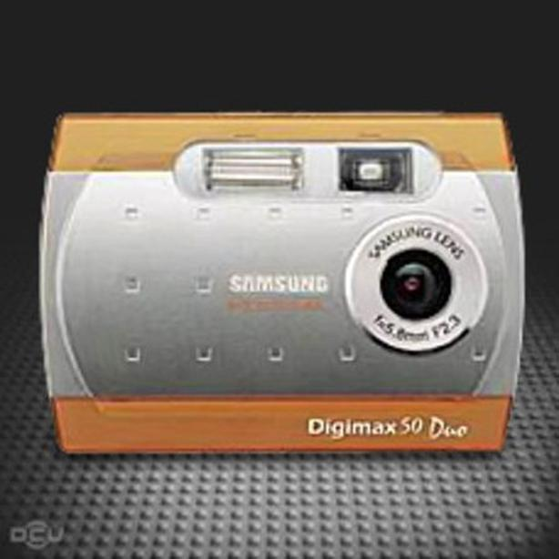 two samsung digimax 50 duo webcams/cameras $20 for both