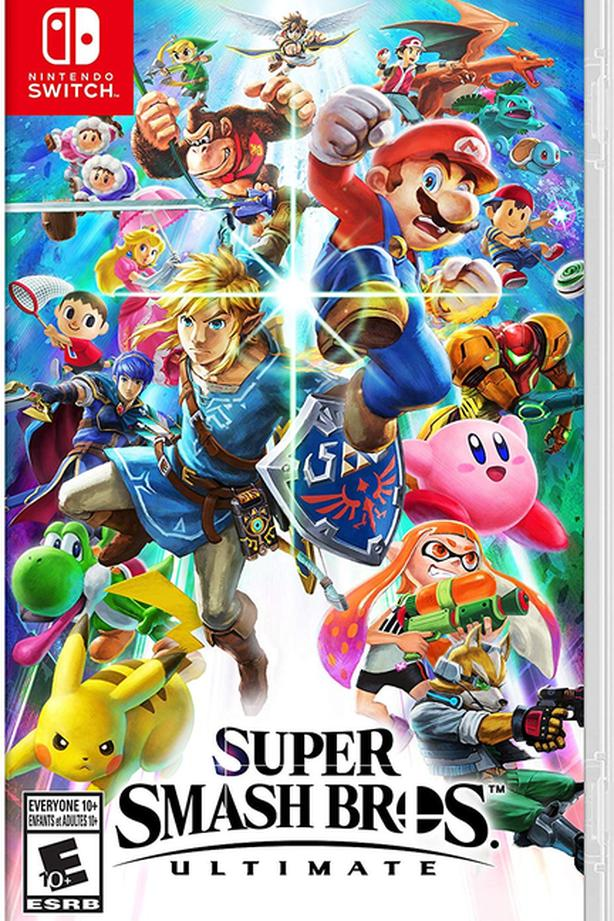 FOR-TRADE: Smash Brothers Ultimate for Let's Go Pokemon game