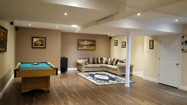 HUGE BASEMENT APARTMENT with luxurious finishings - available immediately