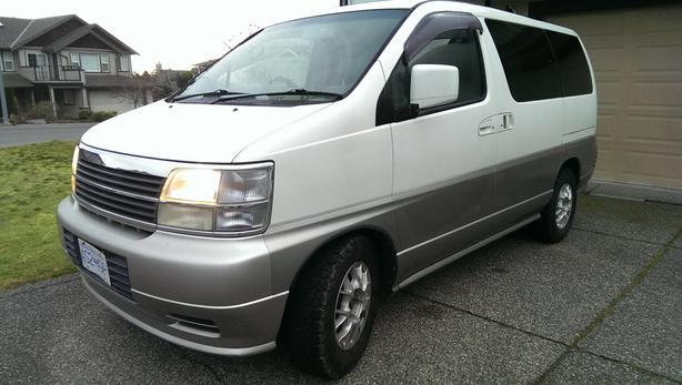 Nissan Elgrand 1998 *OBO