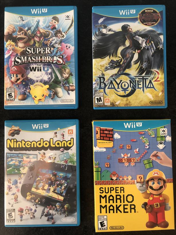 Wii U Games Priced as a package or individually
