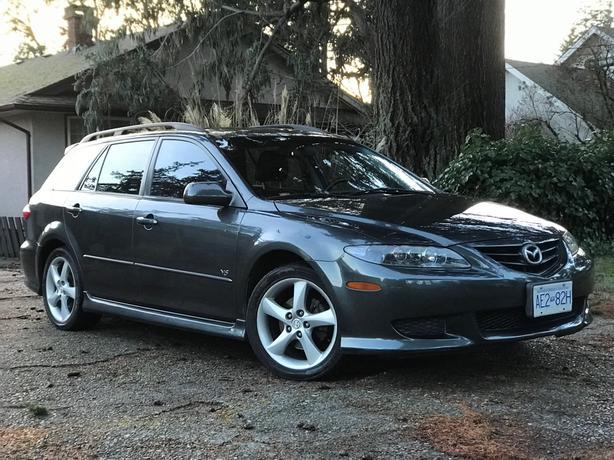 2005 mazda 6 wagon