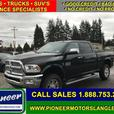 2017 Ram 3500 Laramie  - Leather Seats -  Heated Seats - $455.33 B/W