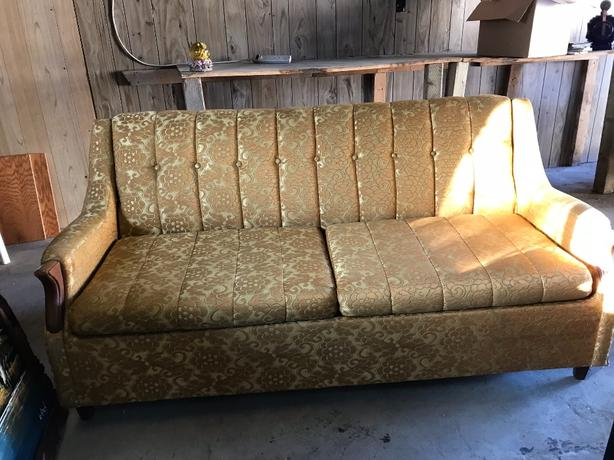 FREE: Couch with Hide-a-Bed