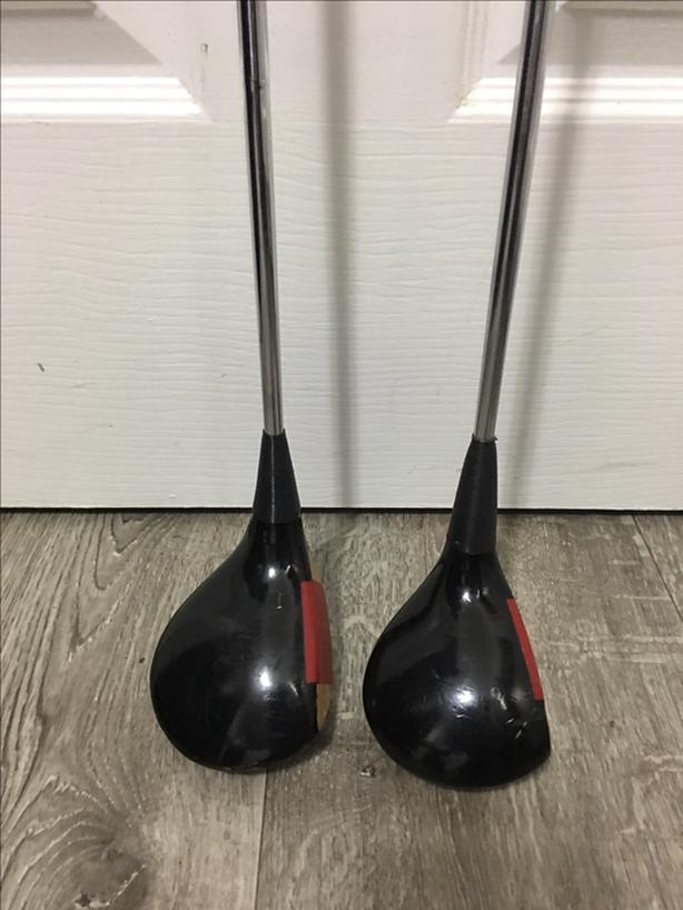 Vintage Ping Karsten I Driver and 3 Wood