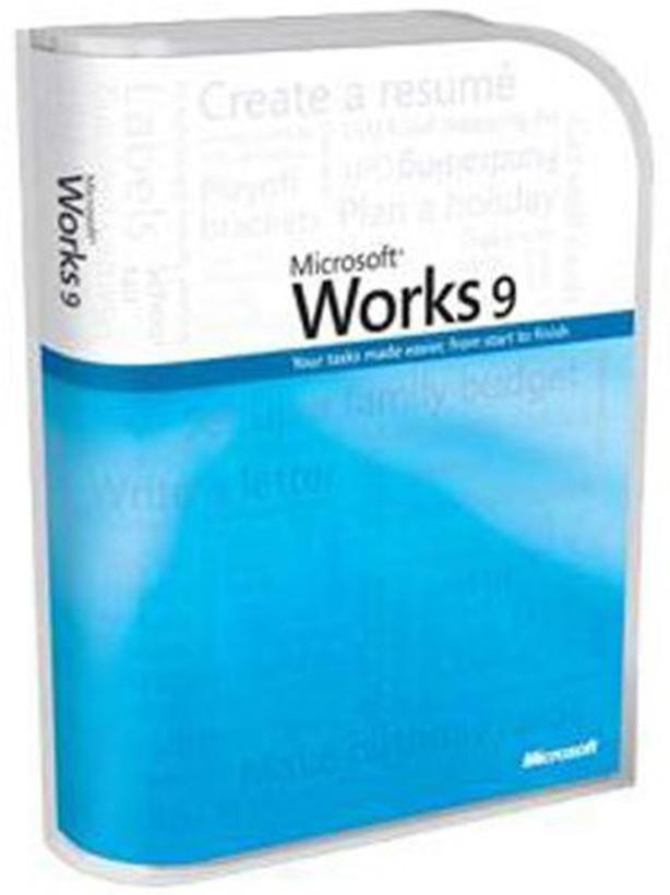 Wanted MS Works 9