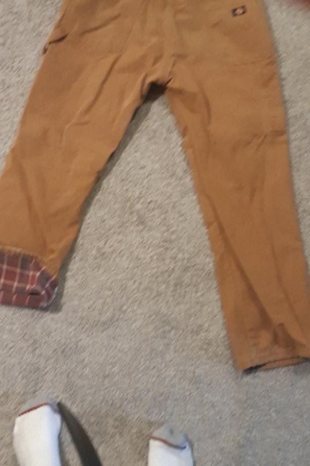 Dickie's Heavy Duty Flannel Lined Work Pant