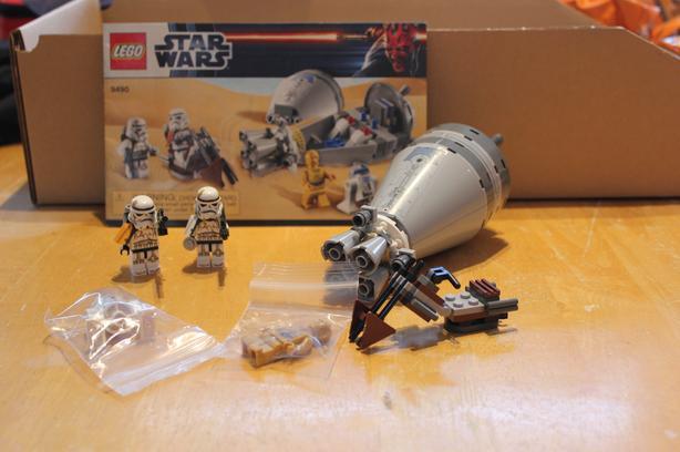 Lego Star Wars Droid Escape #9490
