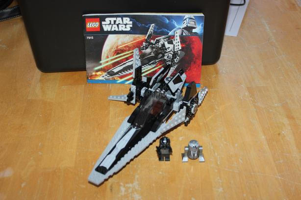 Lego Star Wars Imperial V-Starfighter #7915