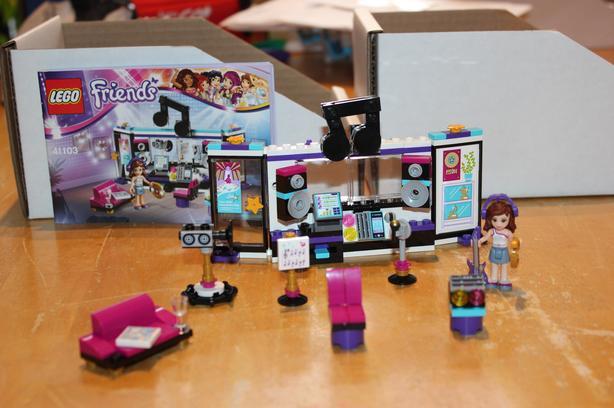 Lego Friends Pop Star Recording Studio #41103
