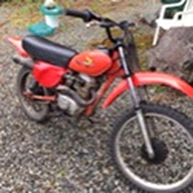 1982 Honda xr 100