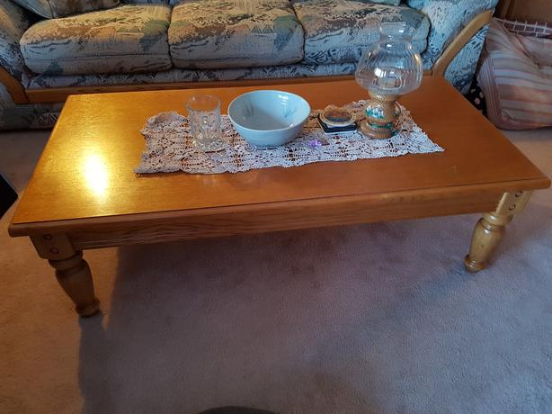 PRICE REDUCED!! Living Room Tables (Coffee and end tables) and tall sofa table