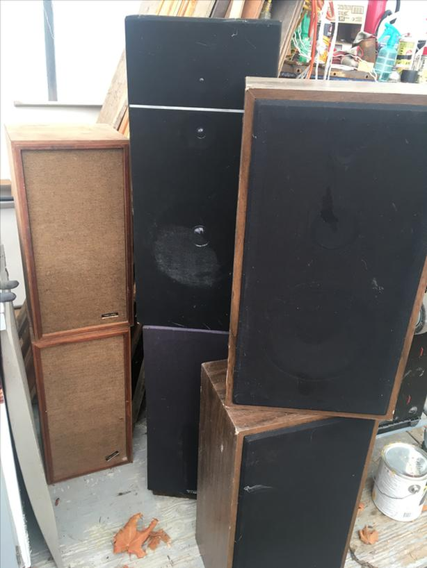 Bunch of vintage SPEAKERS