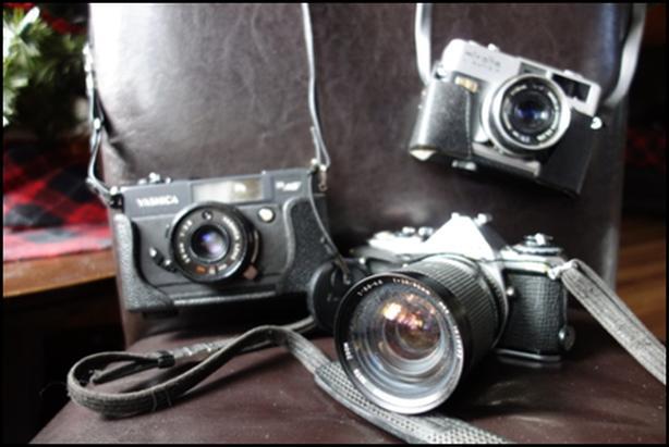 Assorted Film Cameras