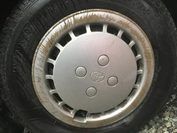 WANTED:_Rim Covers for Toyota Tercel - 13 inch rim