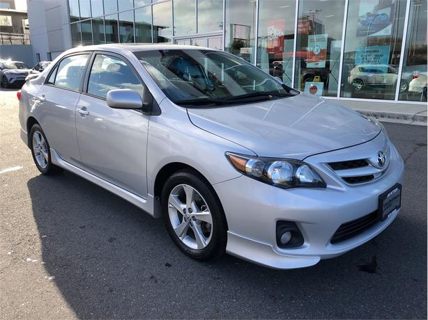 Log In Needed 14 995 2013 Toyota Corolla S A4 No Accidents Local Victoria Service History