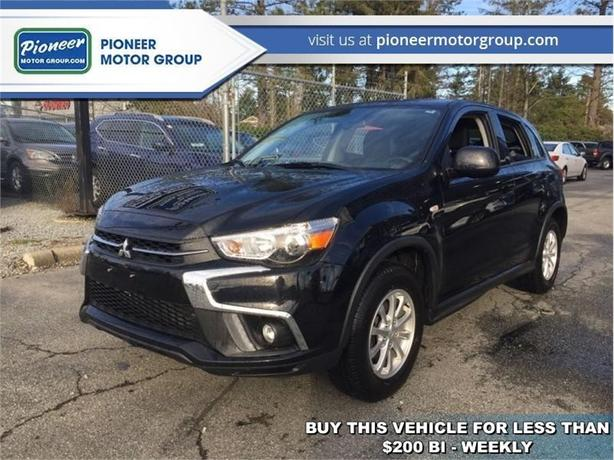 2018 Mitsubishi RVR SE AWC  - Bluetooth -  Heated Seats - $185.99 B/W