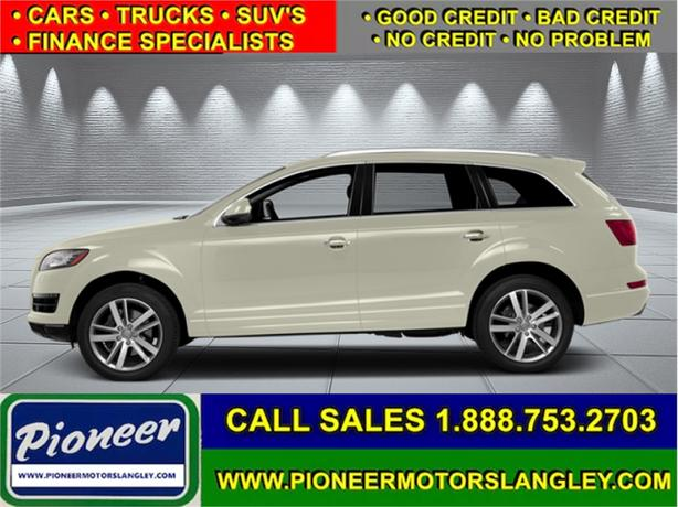 2014 Audi Q7 3.0T PROGRESSIV  - Leather Seats