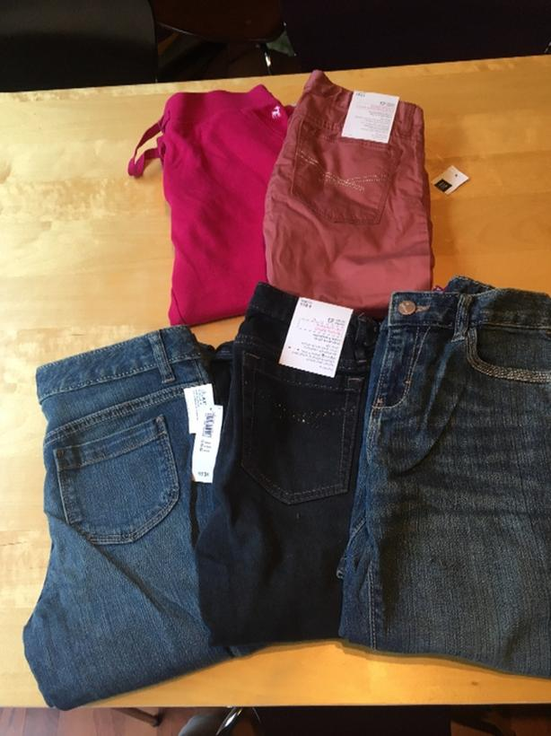 NEW with tags - size 12,  5 pairs GAP/Old Navy