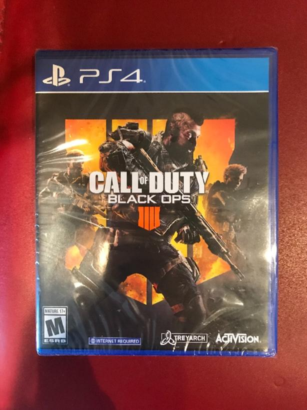 New - Call of Duty Black Ops 4 PS4