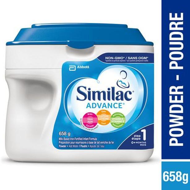 Unopened Similac Advance 1 baby formula powder