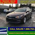 2016 Kia Optima LX  - Bluetooth -  Heated Seats - $123.75 B/W
