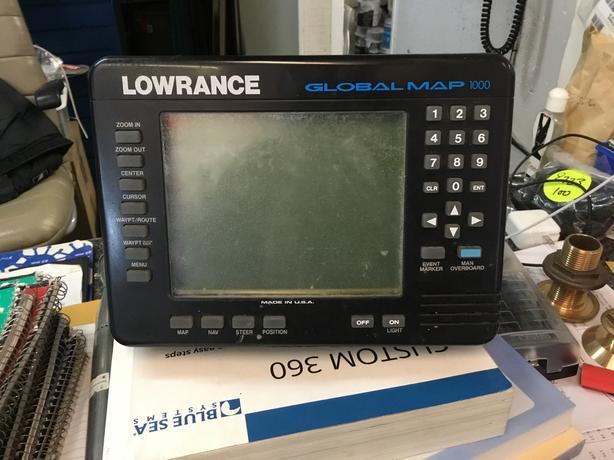 Lowrance Global Map 1000