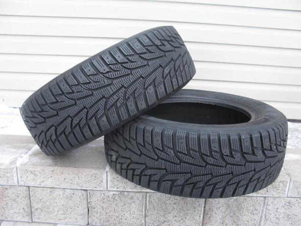 TWO (2) HANKOOK WINTER I*PIKE RS TIRES /205/60/15/ - $60