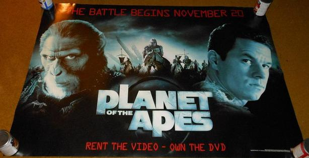 PLANET OF THE APES 2001 PROMO MOVIE POSTER