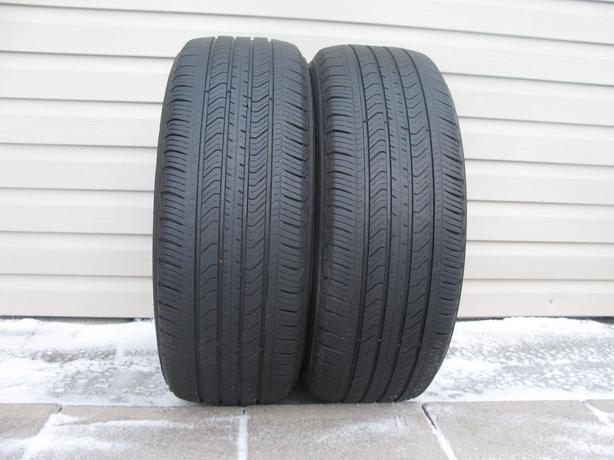 TWO (2) MICHELIN PRIMACY MXV4 TIRES /215/55/17/ - $60