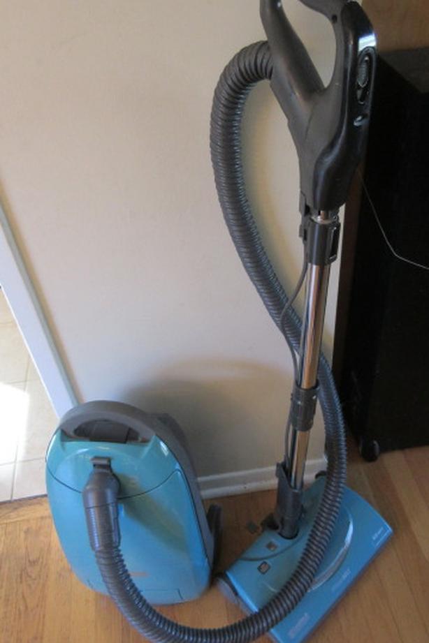 Kenmore canister vacuum.  Power head. HEPA filter