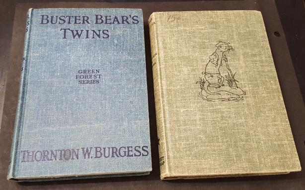 BUSTER BEAR'S TWINS & LITTLE JOE OTTER - vintage books