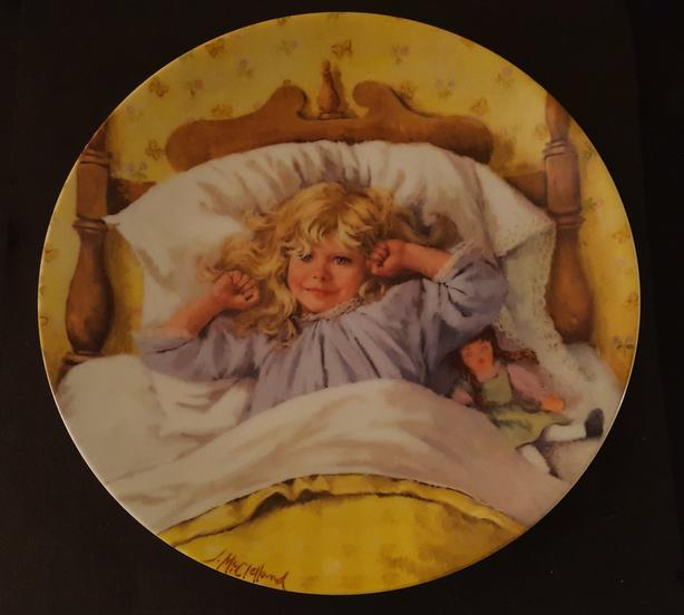 BECKY'S DAY Bradex collectors plates - 1985-86
