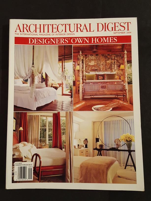 ARCHITECTURAL DIGEST magazines - 1970s,'80s,'90s - 43 available