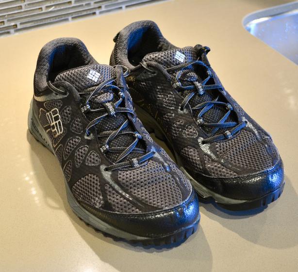Men's waterproof Columbia Hiking shoes