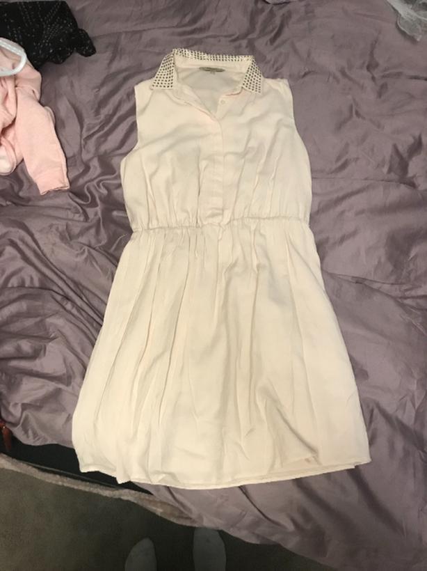 RW&Co. cream dress - SMALL