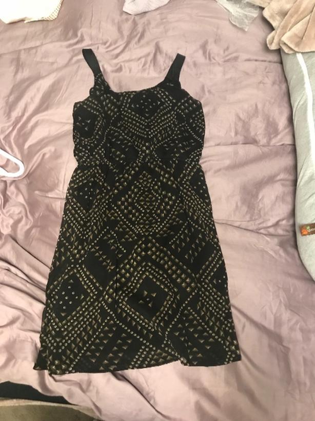 patterned dress - MEDIUM SIZED