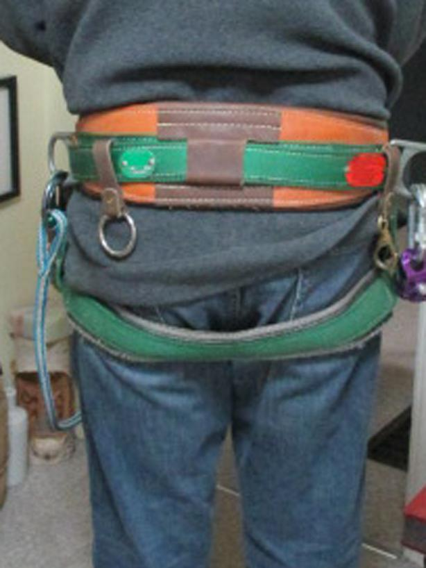 ** BUCKINGHAM Tree / Pole Climbing Belt / Harness ** $80