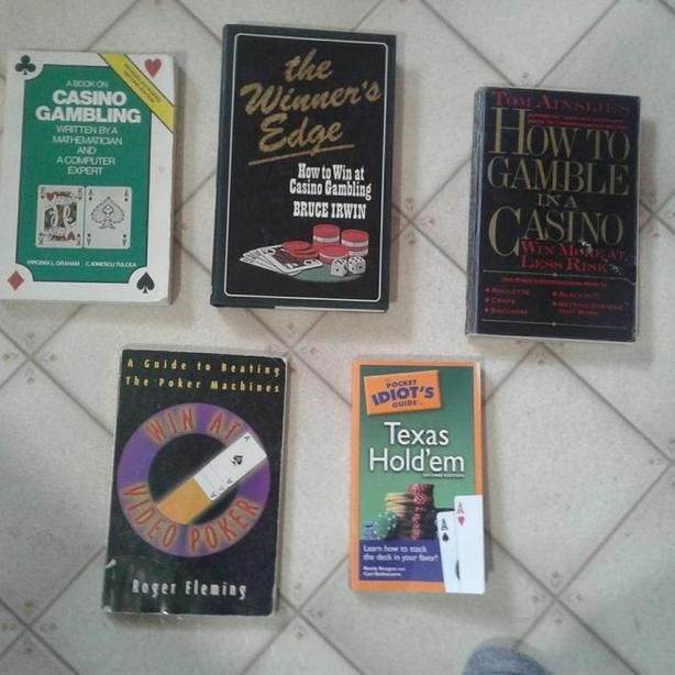 Gambling books, five of them