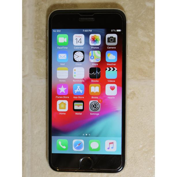 Apple iPhone 6 64GB unlocked used black color works good