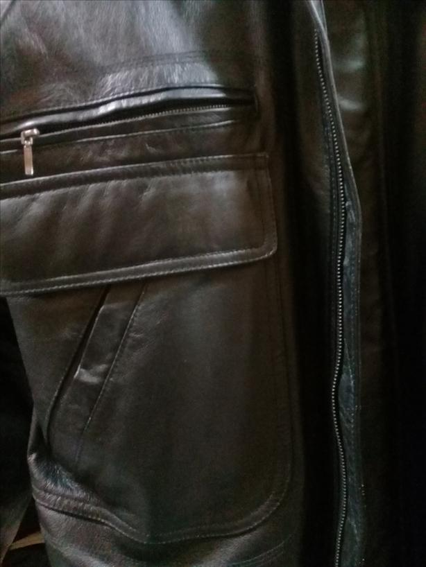 2f5cce213c4 Brand new - Men  39 s Retreat Leather Jacket 46T North Vancouver ...