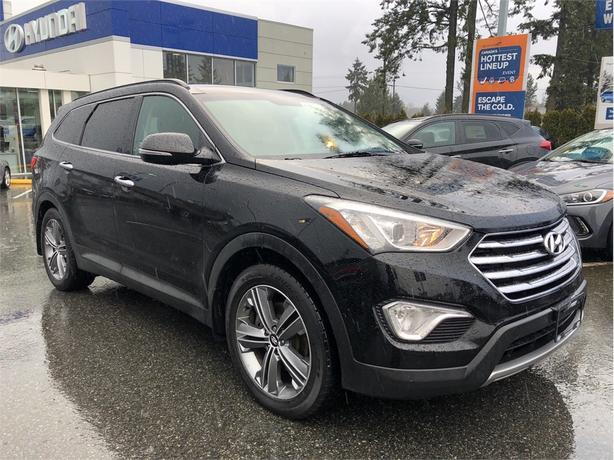 2015 Hyundai Santa Fe XL Limited, Power moonroof, NAV, Leather