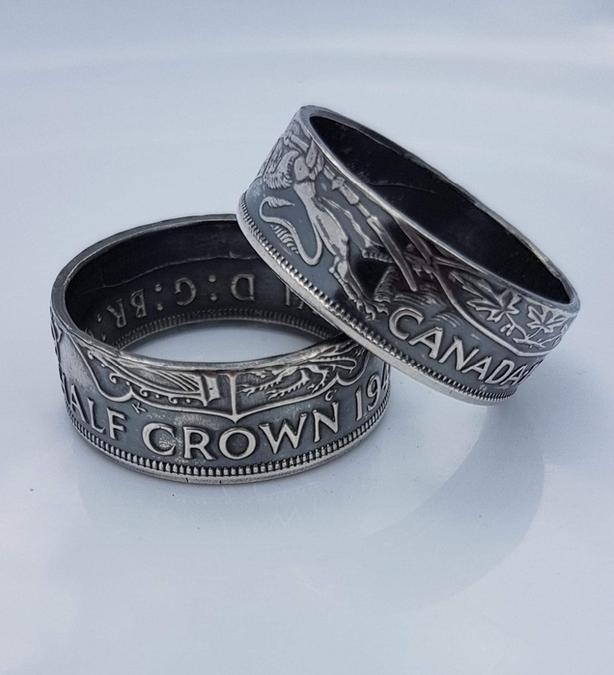 Handmade coin jewelry