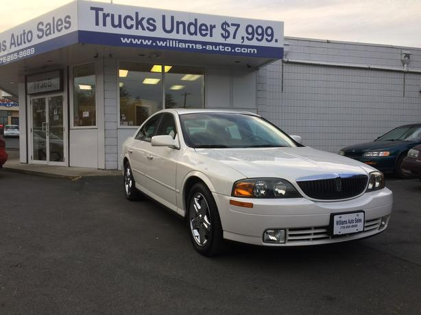 HOT ROD LINCOLN  2002 Lincoln LS 98K Williams Colwood